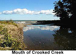 Mouth of Crooked Creek